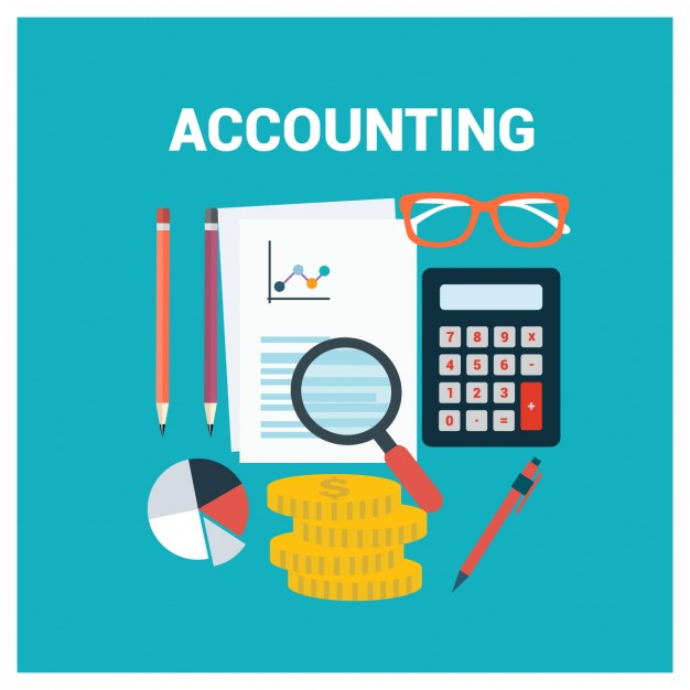 coloured accounting background design 1151 88 1 - حق تمبر