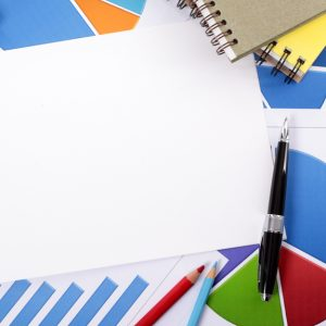blank sheet of paper 1101 46 300x300 - Financial background with blank notebook paper